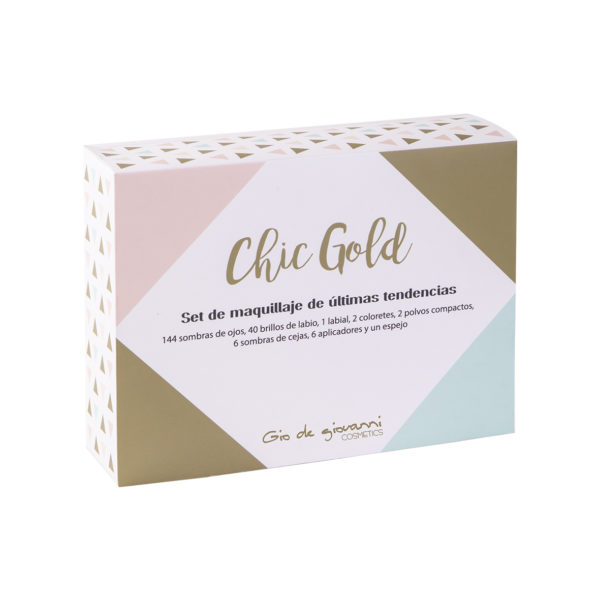 CHIC GOLD – Set de maquillaje Gio de Giovanni